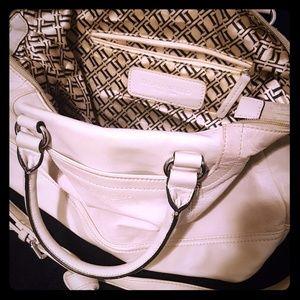 Beautiful LEATHER Tignanello purse!